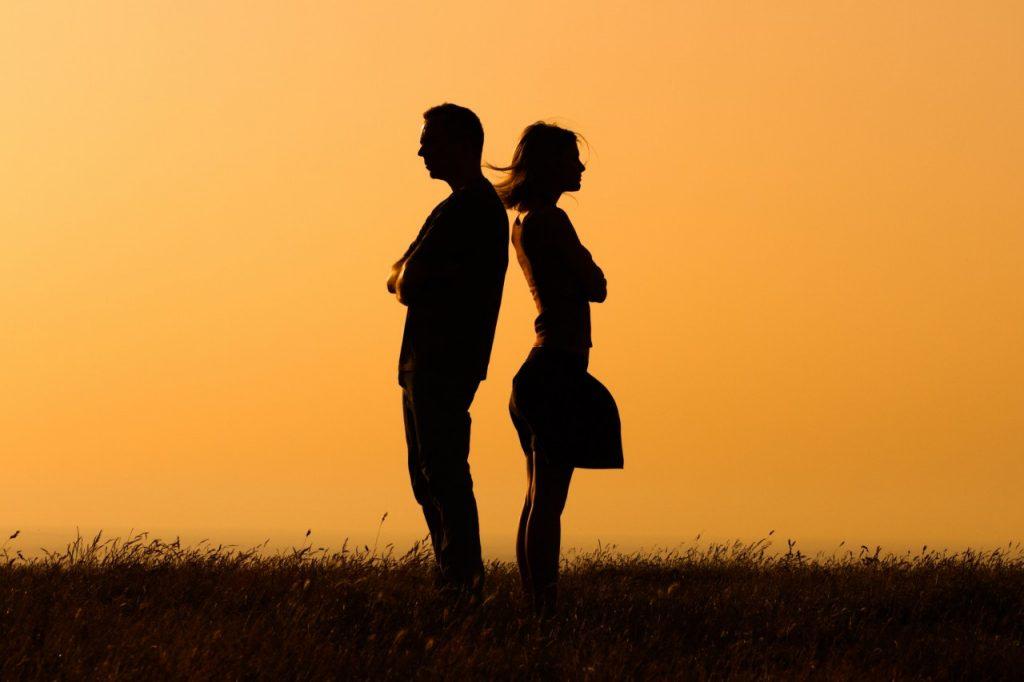 мужчина и женщина в гармоничных отношениях