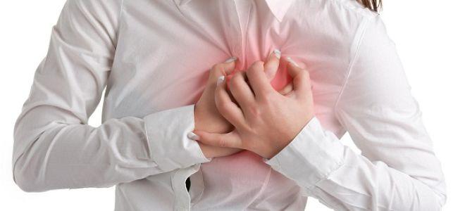 Тахикардия может проявляться сердцебиением