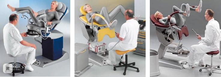 Как садиться на гинекологическое кресло